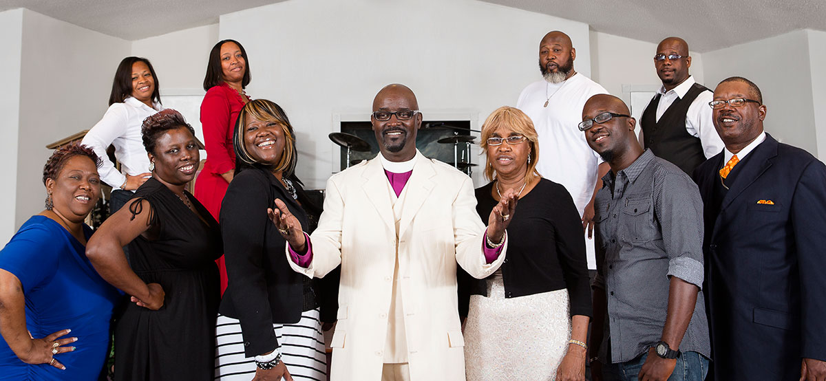 the band   The Jones Family Singers